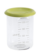 BEABA Baby Portion Conservation Jars, 120 ml, Tritan Neon