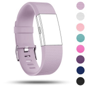 Band for Fitbit Charge 2, Replacement Accessories Silicone Watch Band Wrist Strap for Fitbit Charge 2 Wrist band