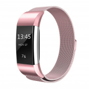 Fitbit Charge 2 Strap Band replacement, einBand Milanese Loop Stainless Steel Metal Bracelet Strap with Unique Magnet Lock for Fitbit Charge 2 Small, Large