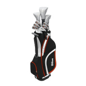 Wilson 2017 Ladies X31 High Launch Technology Womens Golf Package Set Graphite/Steel Right Hand
