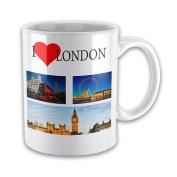 I Love LONDON Ceramic Novelty Gift Mug