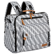 ALLCAMP nappy bag , XX-Large Fashionable Multifunction ,Support baby stroller , A nappy backpack converted into a tote bag