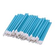 Bangood 100 Pcs Lip Brushes Women Disposable Bulk Lipstick Lip Gloss Applicator Makeup Tool Blue