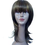 Y demand Women Brown Wigs Long Straight Hair Good Quality Perucas Femininas Cheap Fake Hair African American Wig For Black Women