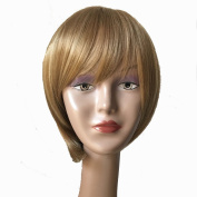 Y demand Short Brown BOB Synthetic Wigs For Black Women Haircuts None Lace Wigs