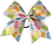 Sparkle Bows Cheer Popsicle Paradise Cheer Bow