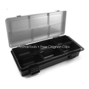Magnetic Hair Stylist Up Styling Hair Pin Case + Free YS Park Chignon Clips