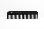"""The """"Heir"""" by HEIRCOMB Obsidian Black Hair & Beard Comb"""