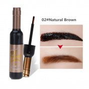 Mmrm Waterproof Long Lasting Tattoo Eyebrow Pack 6g, Peel-Off Tattoo Eyebrow Tint Gel, Natural Brown