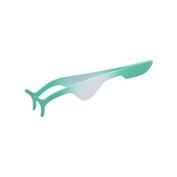 uxcell Green Gradient Fake Eyelash Applicator Clip Remover Tweezer Makeup Nipper Tool
