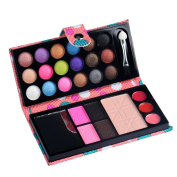 Tosangn Mixed 28 Colours Makeup Palette Cosmetic Eyeshadow Blush Lip Gloss Powder