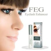 Pro FEG Eyelash Enhancer Growth Serum Treatment Darkener Extension Curler Lengthening Longer Conditioner Rapid Eyelash Enhancing Serum Manufactured by Natural Herbal Medicine