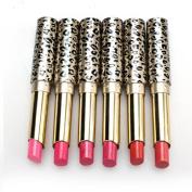 Vovomay 12pcs Lipsticks Lip Stain Makeup Leopard Moisturising Lip Stick Set