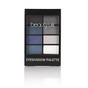 Beauty UK - Professional Eyeshadow Palette no.6 - After Dark for a Denim Smokey Makeup