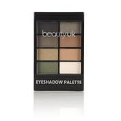 Beauty UK Professional Eyeshadow Palette no.5 - Green with Envy for a Smokey Neutral Makeup