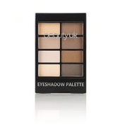 Beauty UK - Professional Eyeshadow Palette no.1 - Natural Beauty for Warm Neutral Makeup