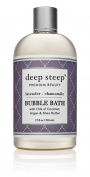 Deep Steep Bubble Bath, Lavender Chamomile, 500mls