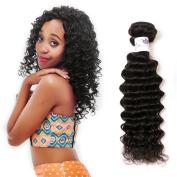 GFINE 9A Peruvian Virgin Hair Deep Wave 100% Unprocessed Virgin Remy Human Hair Extensions Deep Curly Wave Weft 1PC/Lot 100Gram 25cm