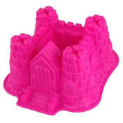 GMMH Silicone Baking Cake Mould in Castle Shape yellow