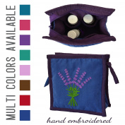 Small Essential Oil Bag - Protects 5ml, 15ml, & 10ml Oils (10ml Roller Bottles, 10ml Rollers, 10ml Roller Balls) Small Essential Oil Case