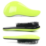 Garrelett Detangling Brush, Paddle Wet Shower Bath Hair Brush Beauty Styling Care Hair Comb - No More Tangle - Adults & Kids Green