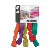 Karina K.Fit Soft Hair Ties, Assorted Colour
