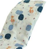 Newborn Baby Soft Cosy Muslin Bedding Swaddle Blanket Infant Swaddling Wrap Bath Towel Blanket