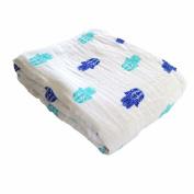 Organic Muslin Snug Blanket - Malabar Baby - Hamsa
