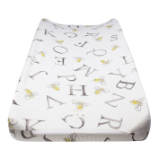 Burt's Bees Baby A-Bee-C Changing Pad Cove, Onyx, One Size