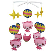 Musical Mobile, [Creative Little Bear] Handmade Hanging Toy, Baby Gift