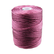 C-Lon Tex 400 Heavy Weight Bead Cord, Cerise - 1.0mm, 39 Yard Spool