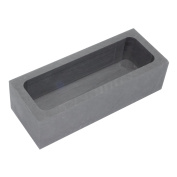 Pure Graphite Crucible Refining Casting Ingot Mould for Gold Silver Aluminium Copper Metals