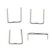 H & D 500Pcs Plated Silver Chandelier Lamp Metal Hanger Pins Crystal Prisms Beads Ball Connectors