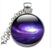 Milkyway Necklace - Milky Way Jewellery - Glass Photo Milky Way Necklace
