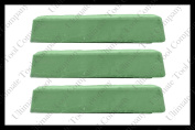 (3) 0.9kg Green Polishing Compound Universal One-Step Aluminium Stainless Steel