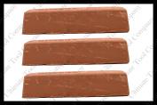 (3) 0.9kg Brown Polishing Compound Rogue Tripoli Steel Cut Process Aluminium