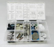 PACIFIC ABRASIVE SILICONE KIT POLISHING PRECIOUS & SEMI-PRECIOUS METALS 70 Piece (10 E) NOVELTOOLS