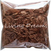 FELTING WOOL with CURLY LOCKS for Needle Felting, Spinning, Doll Hair and Embellishments - Cacao