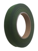 1.3cm Wide 30m Long Dark Green Floral Tape Bouquet Stem Wrap Florist Tape by Nesha