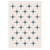 Phill Martin Sentimentally Yours Collection A5 Stencil - Star Grid
