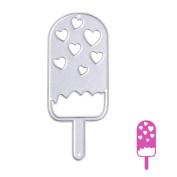 JUA PORROR Ice Cream Cutting Dies Stencils DIY Scrapbook Album Paper Card Embossing Craft