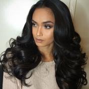 Aimei Beauty Brazilian Virgin Hair Body Wave Bundles 100% Human Hair Extensions Human Hair Bundles Nature Colour 3Bundles 180g 1B