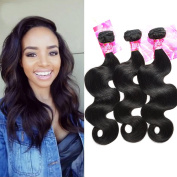XCCOCO Hair 9A Malaysian Remy Body Wave Hair Bundles Unprocessed Virgin Remy Hair Extension Mix Length Natural Colour Tangle Free
