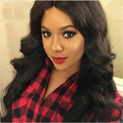 CCOLLEGE Brazilian Body Wave Hair Extensions 8A Grade Remy Hair 4 Bundles Real Human Hair Unprocessed Virgin Brazilian Hair Natural Colour Can Be Dyed Very Soft