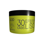 QOD CITY 30 DAYS STRAIGHT EFFECT MASK 310ml/300G - KERATIN FOR HOME USE