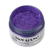 Mandystore 2017 7 Colours DIY Hair Clay Wax Mud Dye Cream Grandma Hair Ash Dye Temporary