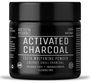 Activated Charcoal Natural Teeth Whitening Powder by Pro Teeth Whitening Co | Manufactured in the UK