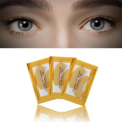 DZT1968 1pc 24k Gold Eye removes puffiness Crystal Collagen Ageing Wrinkle Under Crystal Gel Patch Anti Mask