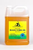 Black Seed Oil / Cumin Oil Unrefined Organic Virgin Raw Cold Pressed Premium Fresh Pure 3790ml, 3.2kg, 1 gal