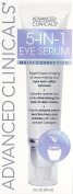 Advanced Clinicals 5-in-1 Multi Correction Eye Serum with Retinol, Collagen, Vitamin C, and Manuka Honey. For dark circles, wrinkles, puffiness, crow's feet, fine lines, bags. Large 60ml airless tube.